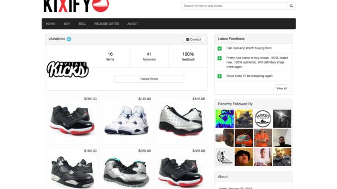 Top 10 Sneaker Resale Websites - Negro