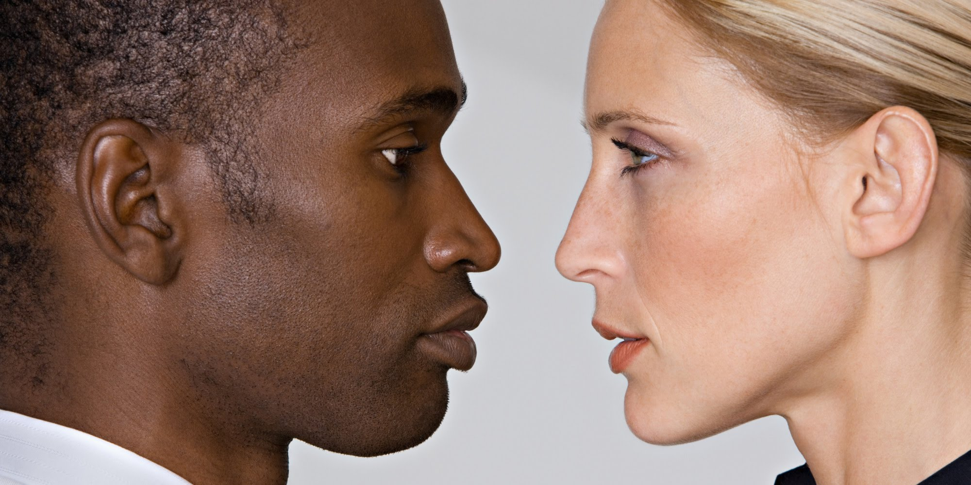 white man and white woman